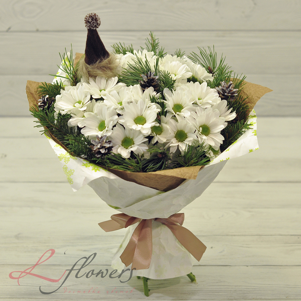 Доставка цветов санкт-петербург до 1500 бюджетный подарок на новый год мужчине