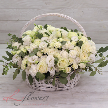 Flowers baskets - Duchess - букеты в СПб
