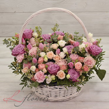 Flowers baskets - Alsace - букеты в СПб