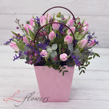 Flowers baskets - Caprise - букеты в СПб