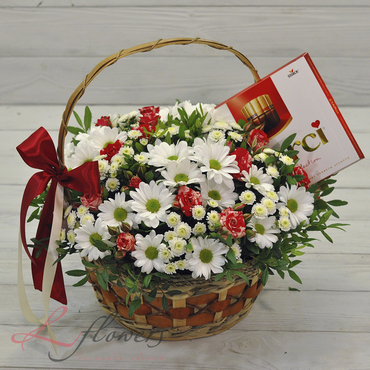 Flowers baskets - Merci - букеты в СПб