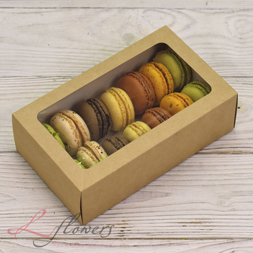 Add a gift to the bouqet - 14 Macaroons - букеты в СПб